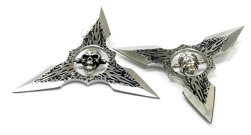 スカル三方 手裏剣 髑髏三方手裏剣